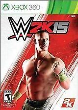 WWE 2K15 15 2015 USED SEALED (Xbox 360) Free Shipping