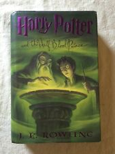 Harry Potter And The Half Blood Prince By Jk Rowling Hard Cover First Edition VG