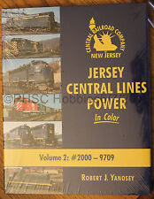 MORNING SUN BOOKS - JERSEY CENTRAL LINES POWER In Color Volume 2 - HC 128 Pages
