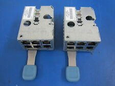 Lot of 2 Compaq HP 253241-001 6 Port RJ45 Panel BL20p Chassis