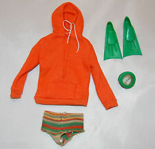 VINTAGE KEN DOLL OUTFIT#1406 SKIN DIVER FROM 1963