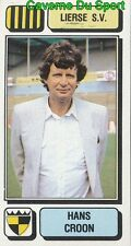 169 HANS CROON NETHERLANDS LIERSE.SV STICKER FOOTBALL 1983 PANINI