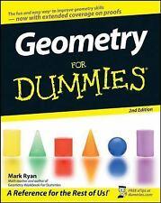 Geometry for Dummies® by Wendy Arnone and Mark Ryan (2008, Paperback)