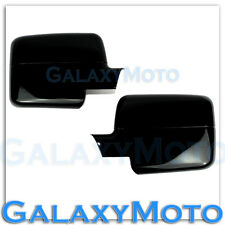 04-08 Ford F150 Truck Factory Gloss Black Full Mirror Cover Caps Trim 1x Pair