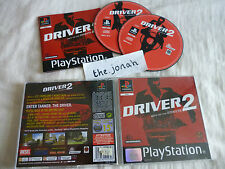 Driver 2 PS1 (COMPLETE) Sony Playstation black label racing car driving