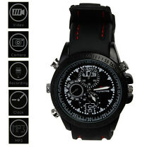 8GB Armbanduhr Spy Watch Video Recorder Mini DVR DV Kamerarecorder Wasserdicht
