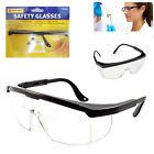 NEW Safety Goggles Glasses Eye Protection Fog Over Clear Vision Lens Cover DIY