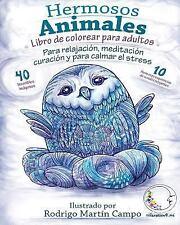 Libro de Colorear para Adultos Contra el Stress : Hermosos Animales - para...