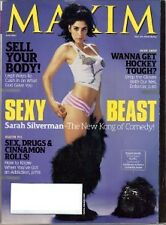 Maxim Magazine June 2007 SARAH SILVERMAN Noureen DeWulf New Kong Comedy