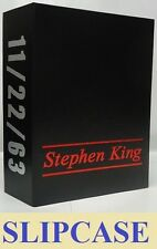CLEARANCE OFFER!  STEPHEN KING 11 22 63 Slipcase and Two Color Foil Stamping!