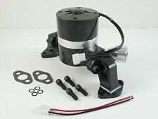 Black  High Performance Aluminum Electric Water Pump Small Block Chevy CAMARO