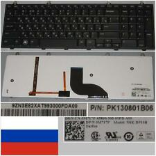 Clavier Qwerty Russe DELL 1749 NSK-DP10R 9Z.N3E82.XAT 0M717P PK130801B06 BACKLIT