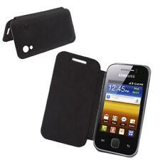 Handy Tasche Schutz Case Cover Schale Hülle für Samsung Galaxy Ace S5830 Schwarz