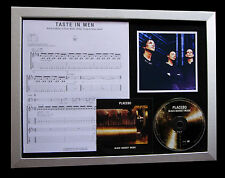 PLACEBO Taste In Men TOP QUALITY CD MUSIC FRAMED DISPLAY+EX​PRESS GLOBAL SHIP