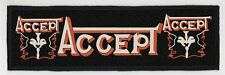 ACCEPT SUPERSTRIP PATCH / SPEED-THRASH-BLACK-DEATH METAL