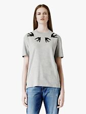 DEFECT McQ Alexander McQueen Sequined Swallow  Tshirt *XS*