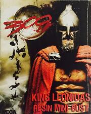 "NECA 6""INCH RESIN MINI BUST 300 MOVIE - KING LEONIDAS - RARE"