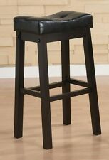 "Sofie 29"" Bar Stool Chair w/ Plush Upholstered Seat by Coaster 120520 - Set of 2"