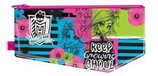 Monster High Flat Pencil Case Stationery Back to School Party Bag Filler Gift