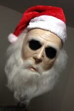 Creepy Claus  Halloween Mask  Jason Freddy Myers Christmas Santa Silent Night