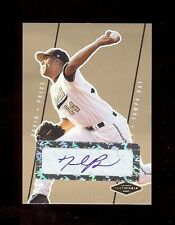DAVID PRICE #1 DP Rays 2007 RC Certified AUTOGRAPH