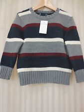 Polo Ralph Lauren Boys Multi Color Striped Sweater NWT, Size 4/4T