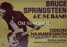 Bruce Springsteen-Hammersmith Odeon UK 1975 concert poster repro
