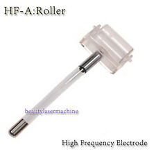 New High Frequency Violet/Orange Ray Facial Skin Roller Glass Electrode Element