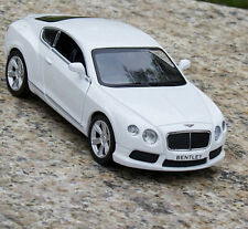 Bentley Continental Alloy Diecast 1:36 Car Model Gift & Toy White New