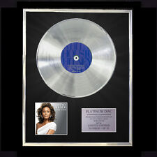 WHITNEY HOUSTON I LOOK TO YOU CD PLATINUM DISC LP FREE P+P!