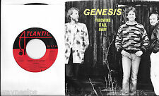 GENESIS * 45 * Throwing It All Away * 1986 *USA * UNPLAYED MINT w PICTURE SLEEVE