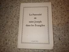 2007.Paternité de saint Joseph dans les évangiles.Joseph Dévé (envoi)