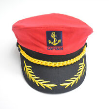 Costume Party Sailor Ship Boat Captain Hat Navy Marins Admiral Cap