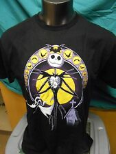 Mens Licensed Nightmare Before Christmas Jack & Bats Shirt New XL