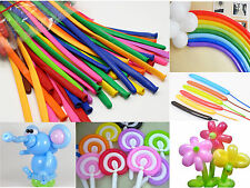 100pcs Wedding Birthday Party Decoration Balloon Magic Latex Long Ballons Lot