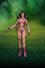 DC: Blackest Night: WONDER WOMAN (AS STAR SAPPHIRE) figure - RARE (statue)