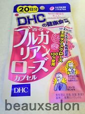DHC Supplement Bulgarian Rose, 40 tablets (20 days), 2018-08,Rose oil,Anti-Aging