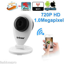 Sricam 720P H.264 Megapixel Wireless ONVIF CCTV security  IP Camera  EU Plug