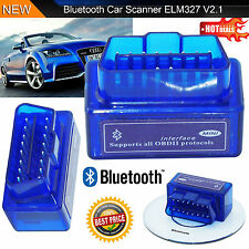 Mini OBD2 ELM327 V2.1 Bluetooth Auto Scanner Android Torque Scansione Automatica