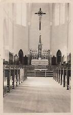 """*Church Postcard-""""Inside of Church w/Big Cross"""" /Nova Scotia/  (U1-709)"""