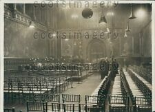 1930 Royal Gallery House of Lords London England Press Photo