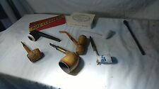 LOT 6 Vintage Tobacco Smoking Pipes & accessories  Free Shipping !