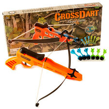 CROSS BOW & TARGET ARCHERY GIFT GIRLS BOYS TOY CROSSBOW BIRTHDAY PARTY GARDEN