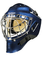 New Vaughn 7700 Cat Eye goalie helmet navy senior small blue Sr hockey goal mask