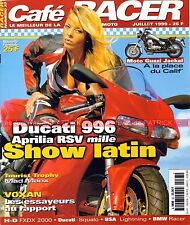 Café Racer 23 DUCATI 996 APRILIA RSV 1000 GUZZI JACKAL BSA 650 Lightning VOXAN