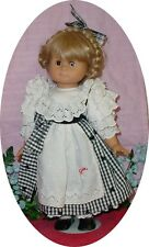 "18"" - 19"" Vintage 1991 Hans Gotz Doll, Made in West Germany, Original Clothes"