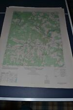1940's Army topographic map Salem Church Virginia -Sheet 5460 I SE