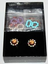 JOAN RIVERS Stretch Bead Clip On Earring Set