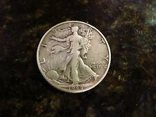 EXCELLENT 1944-D SILVER WWII Walking Liberty Half Dollar!