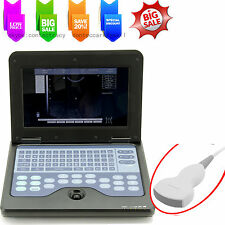 CE Digital Notebook Diagnostic Machine Ultrasound Scanner CMS600P2 convex probe